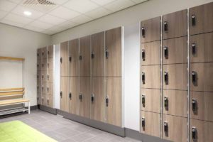 Trespa lockers EAZZ