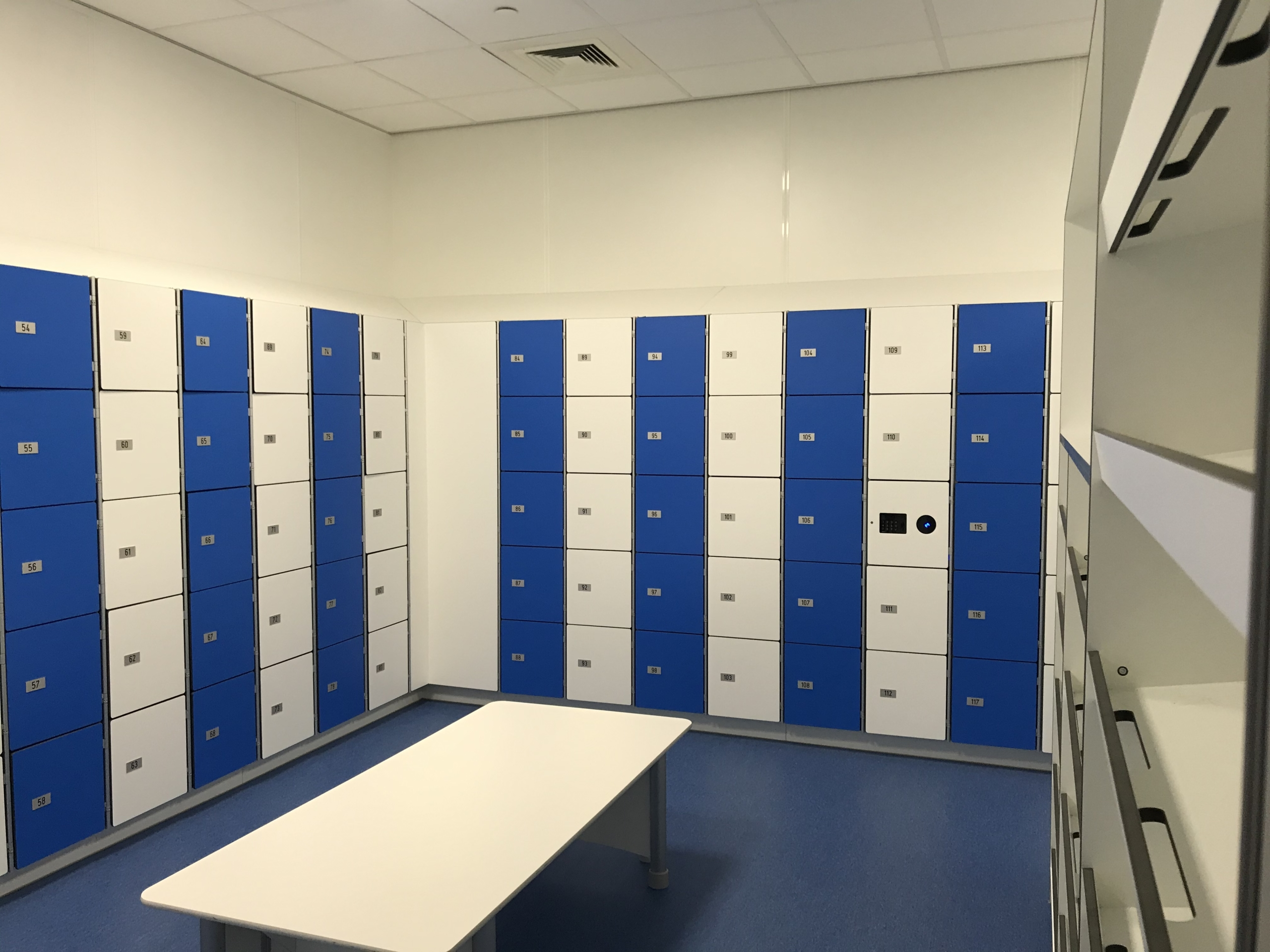 lockers industrie